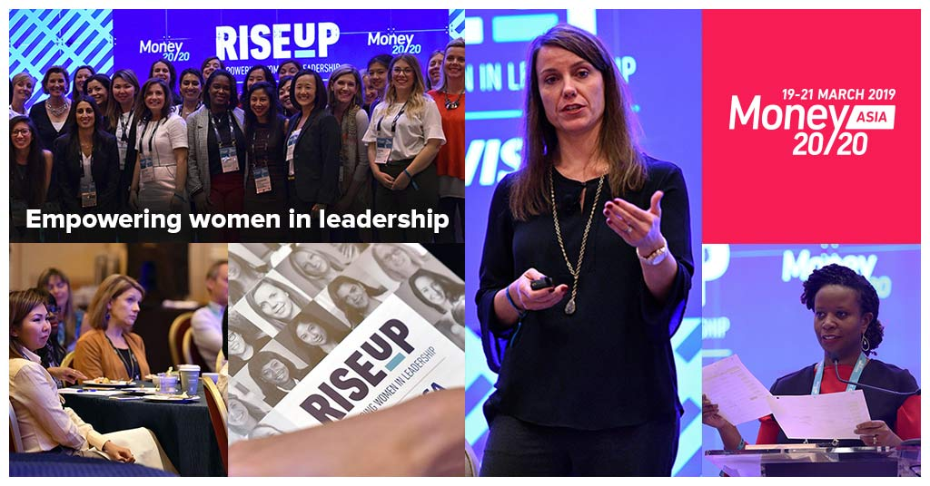 Empowering women to rise up financial services across world